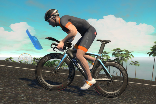 Zwift Cycling App With Kickr Smart Trainer Wahoo Fitness